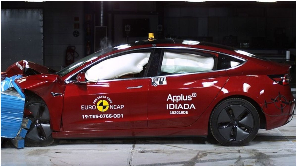 Tesla Model 3 Euro NCAP 1