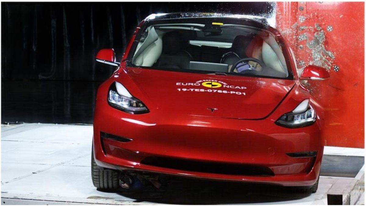 Tesla Model 3 Euro NCAP 2