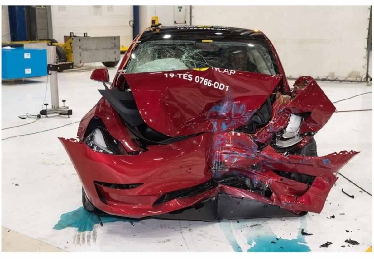 Tesla Model 3 Euro NCAP 3