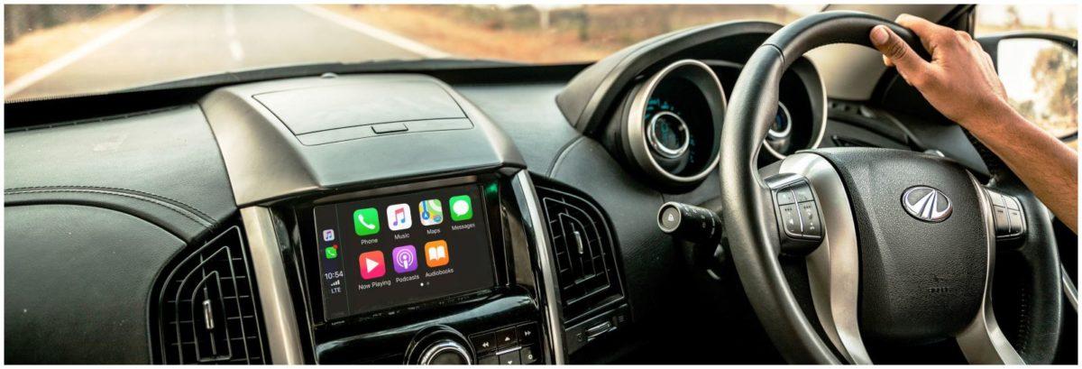 XUV 500 Apple CarPlay 1