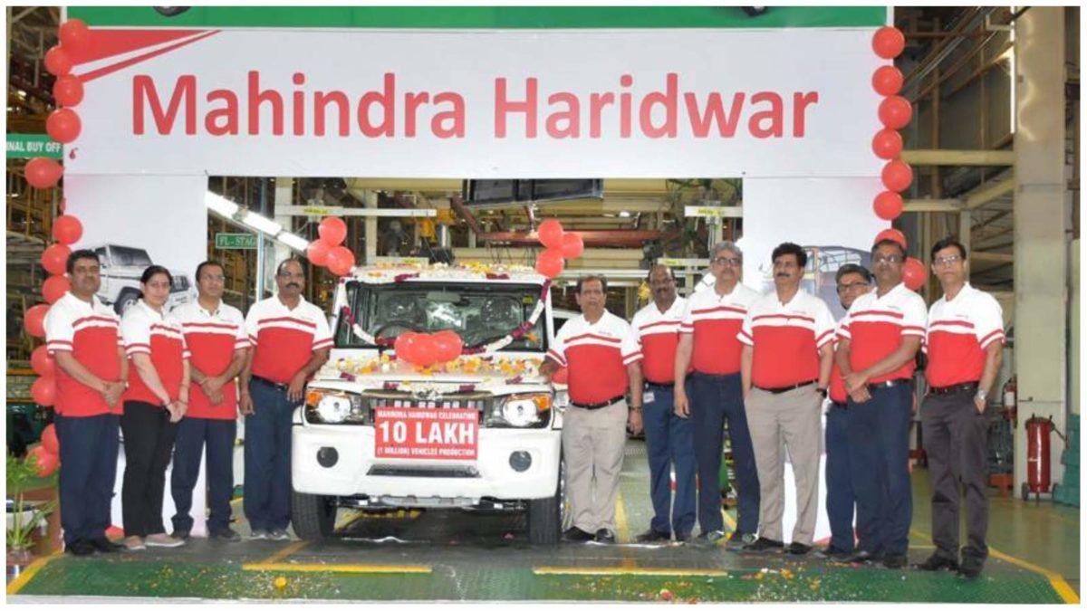 mahindra 1 million sales milestone 1