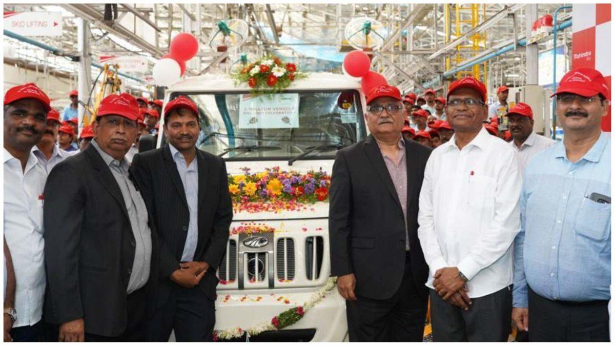 mahindra 1 million sales milestone 2