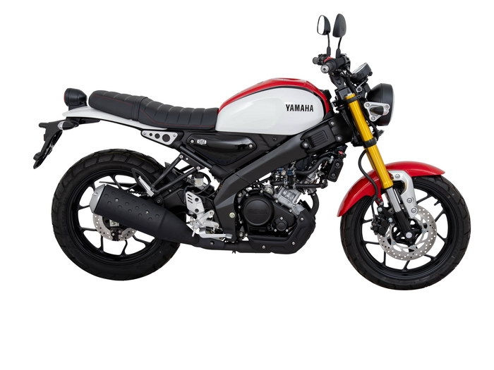 2019 Yamaha XSR155 right