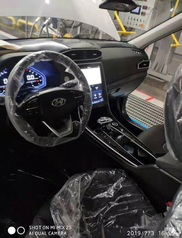 2020 Hyundai Creta cabin layout