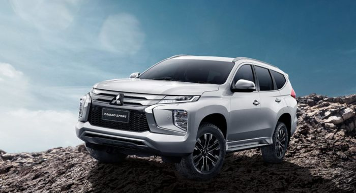 the 2020 mitsubishi pajero sport is handsome, modern and