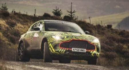 Aston Martin DBX Prototype front slide (1)
