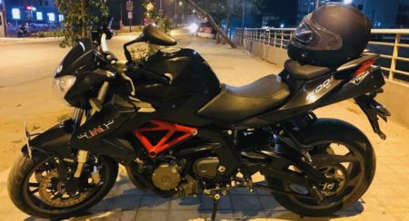 Benelli TNT 600i user review