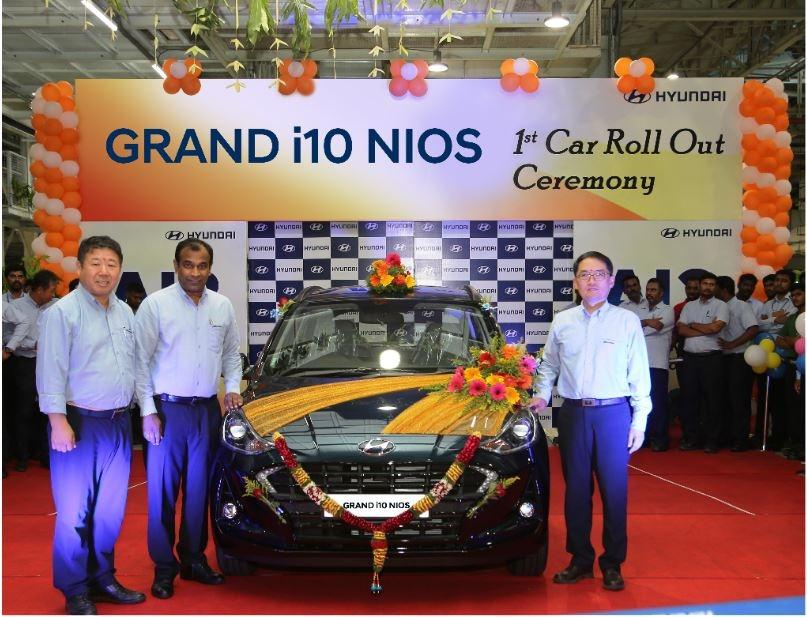 First Hyundai GRAND i10 NIOS Roll Out