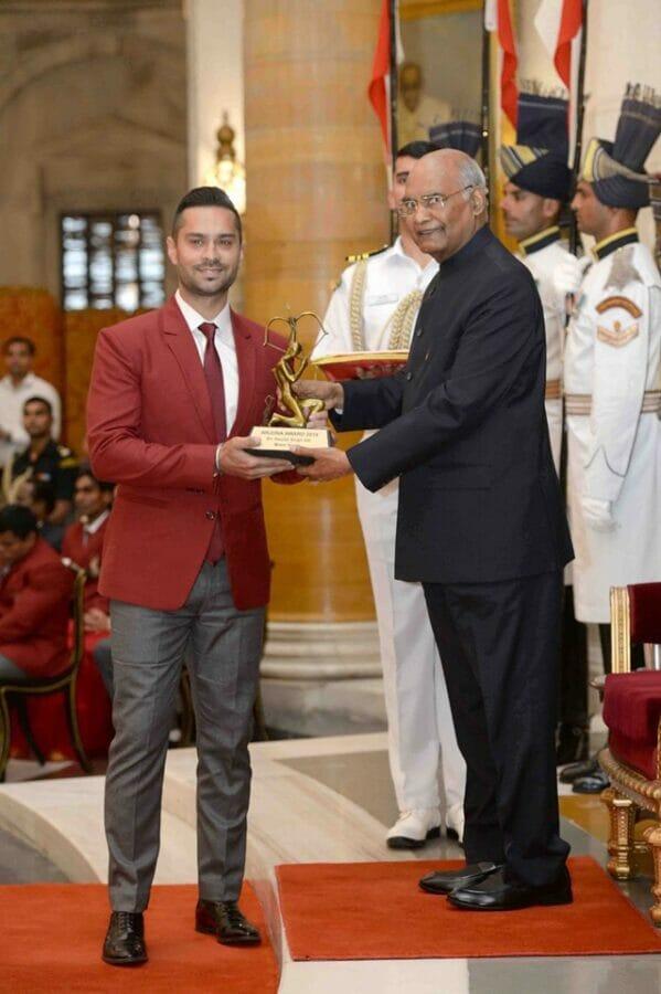 Gaurav Gill Arjuna Award