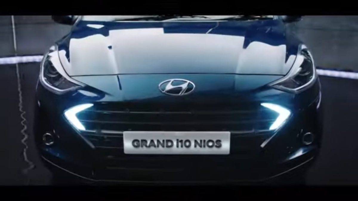 Grand i10 NIOS front grille