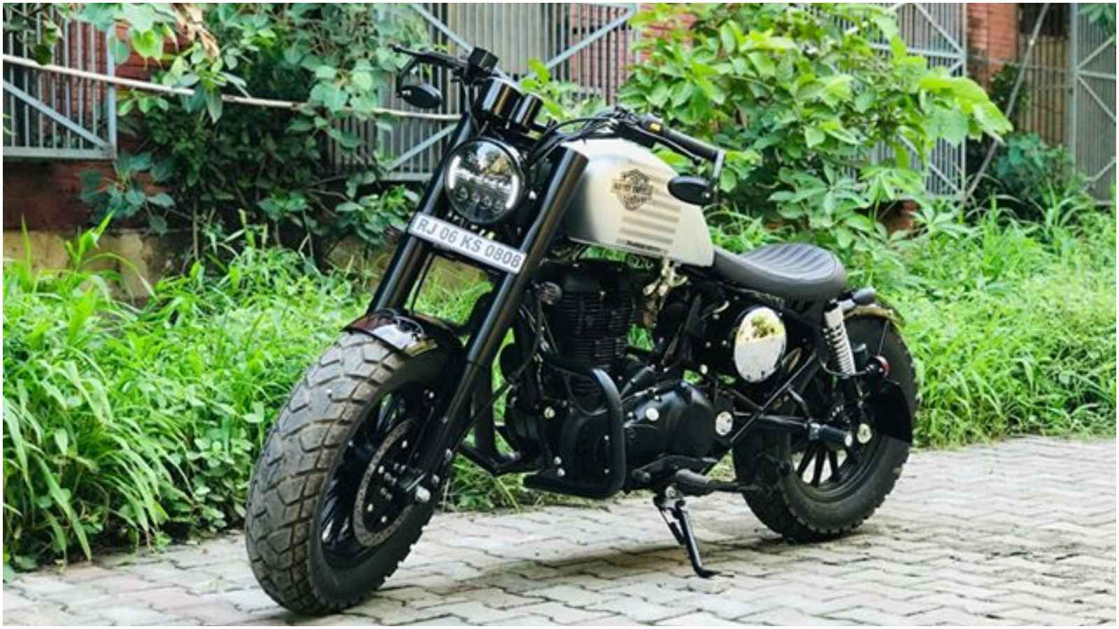 This Royal Enfield Impersonates A Harley Davidson Quite Accurately
