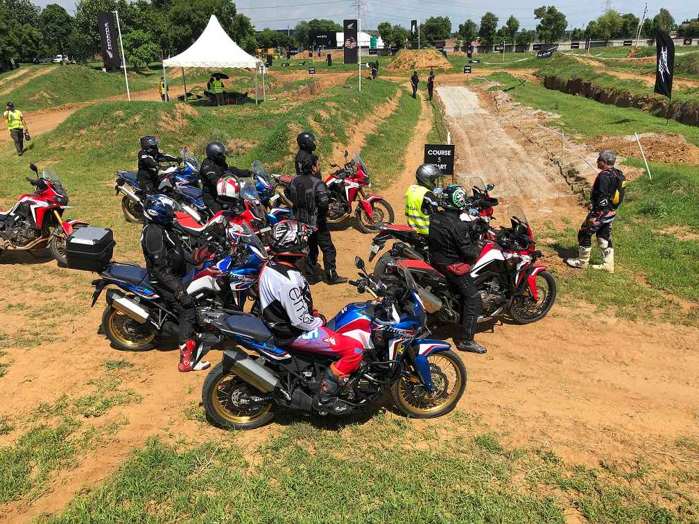 Honda 2Wheelers organizes exclusive Africa Twin True Adventure Camp