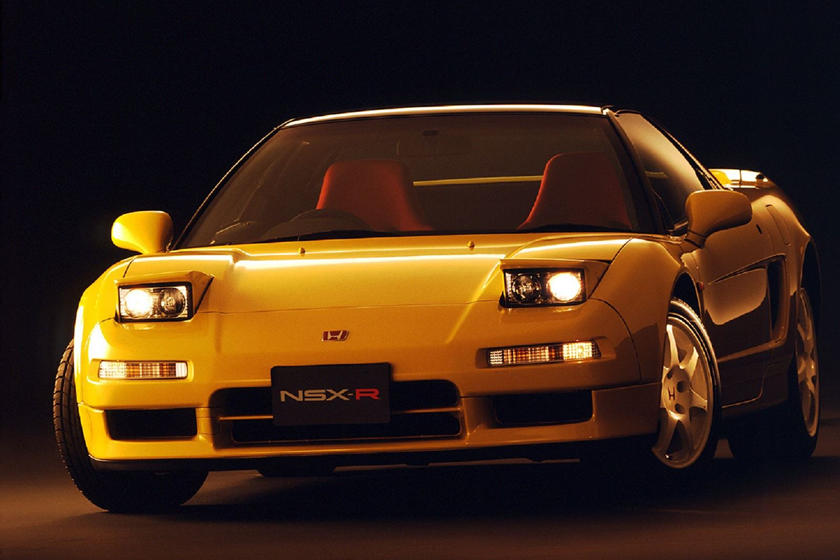Honda NSX pop up headlights