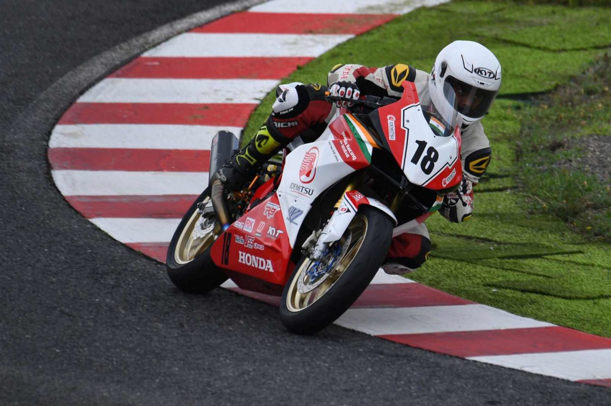 Honda rider Senthil Kumar ready for ARRC Rd 5 in China
