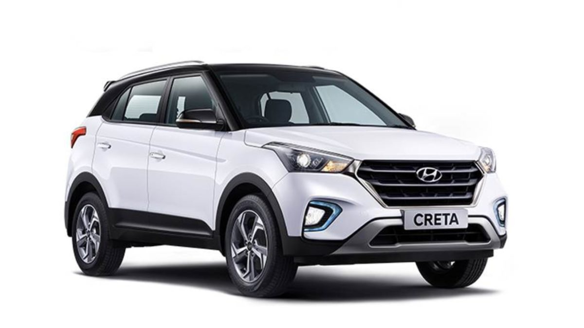 Hyundai Creta Sports Edition Front quarter