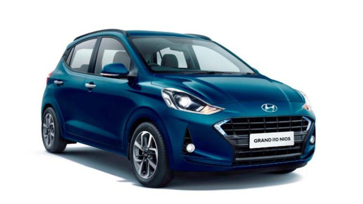 Hyundai Grand i10 NIOS exterior