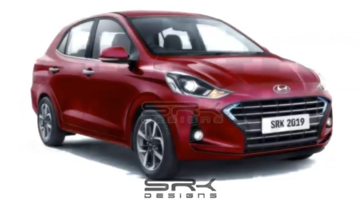 Hyundai Xcent NIOS digital ender front quarter