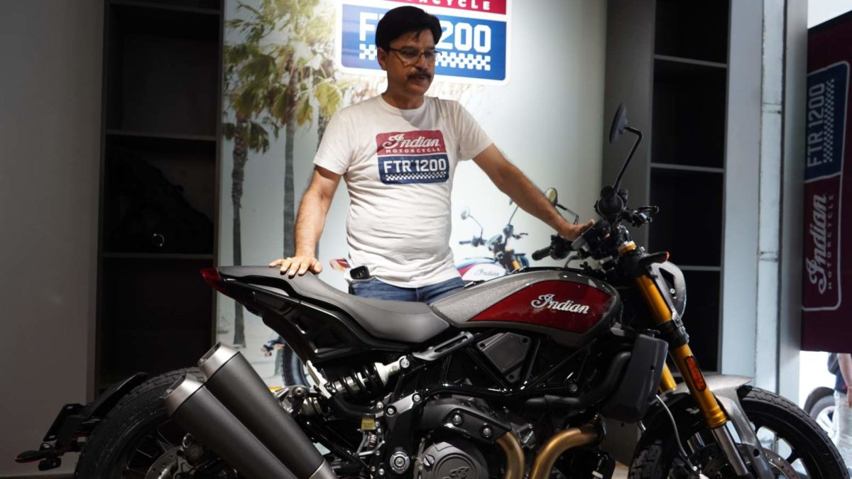 Indian Motorcycle Mumbai showroom Inauguration FTR 1200