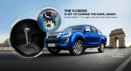 Isuzu Dmax Vcross 1.9-litre auto gearbox featured