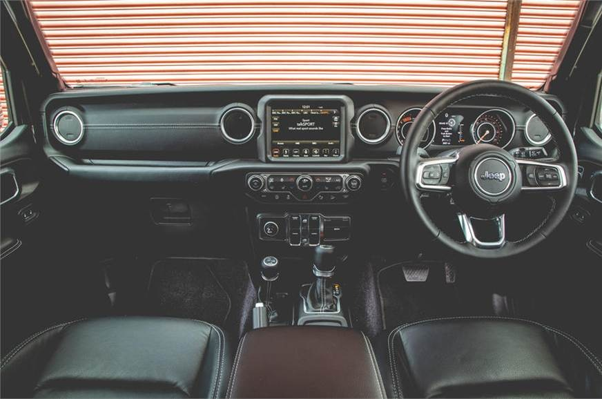 JL generation Jeep Wrangler Interior