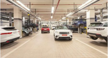 JLR 3S facility in Pune