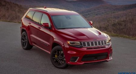Jeep Grand Cherokee Trackhawk Front quarter top featured