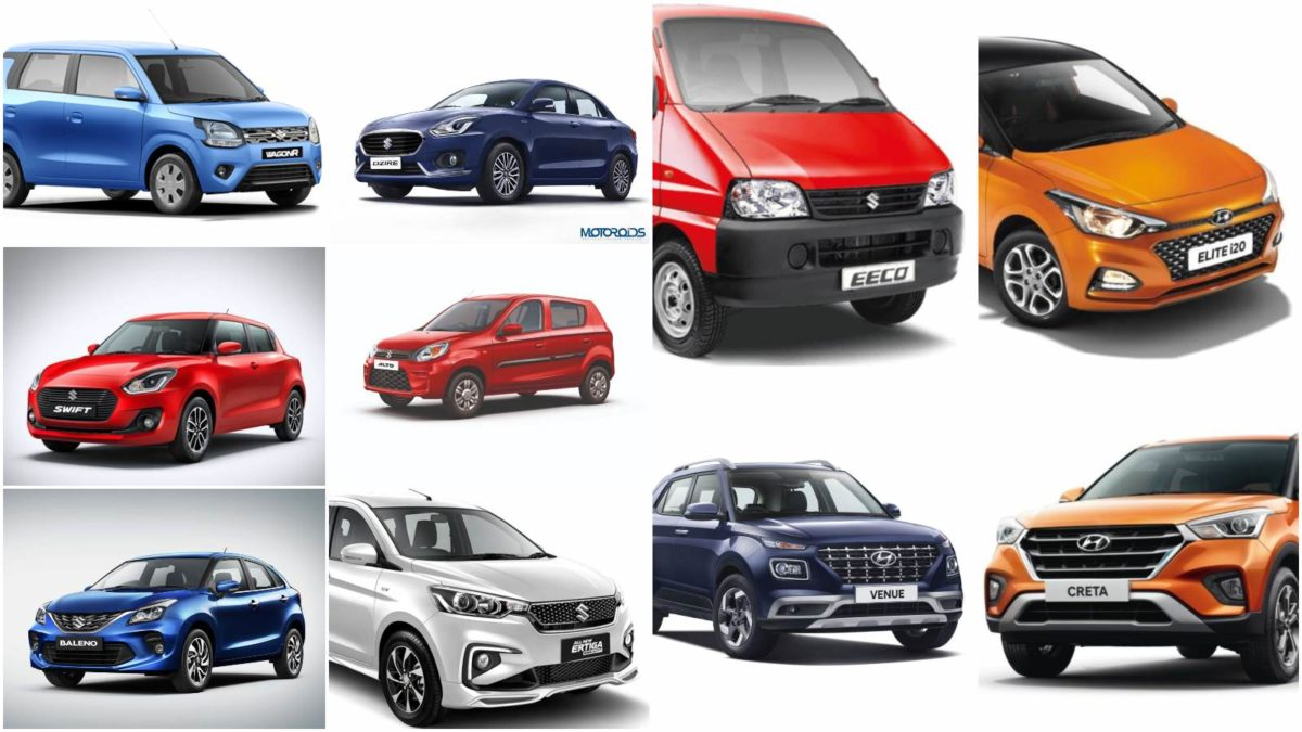 July best selling cars 2019