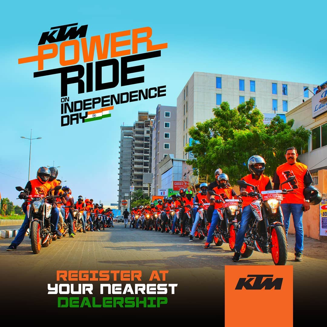 KTM Power ride