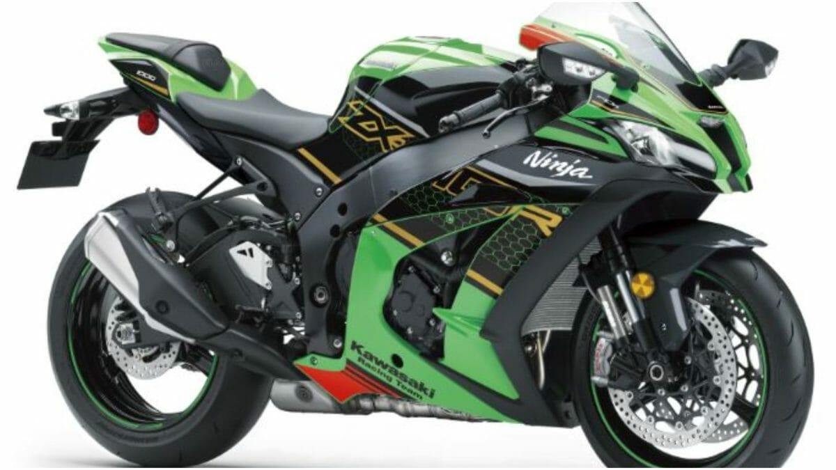 Kawasaki Ninja ZX 10R new colour 2