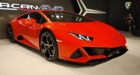 Lamborghini Huracan Evo Launch front quarter low featured