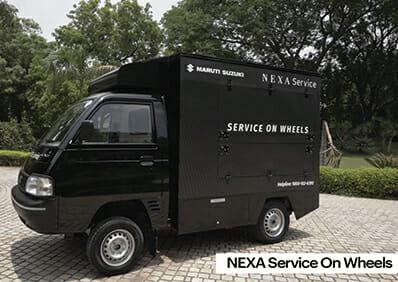 Maruti Suzuki Service on wheels Nexa