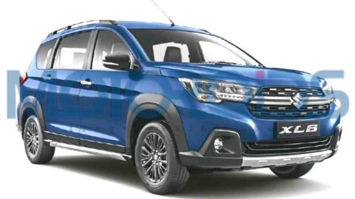Maruti Suzuki XL6 front quarter 2