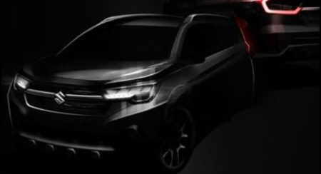 Maruti XL6 initial sketch featured