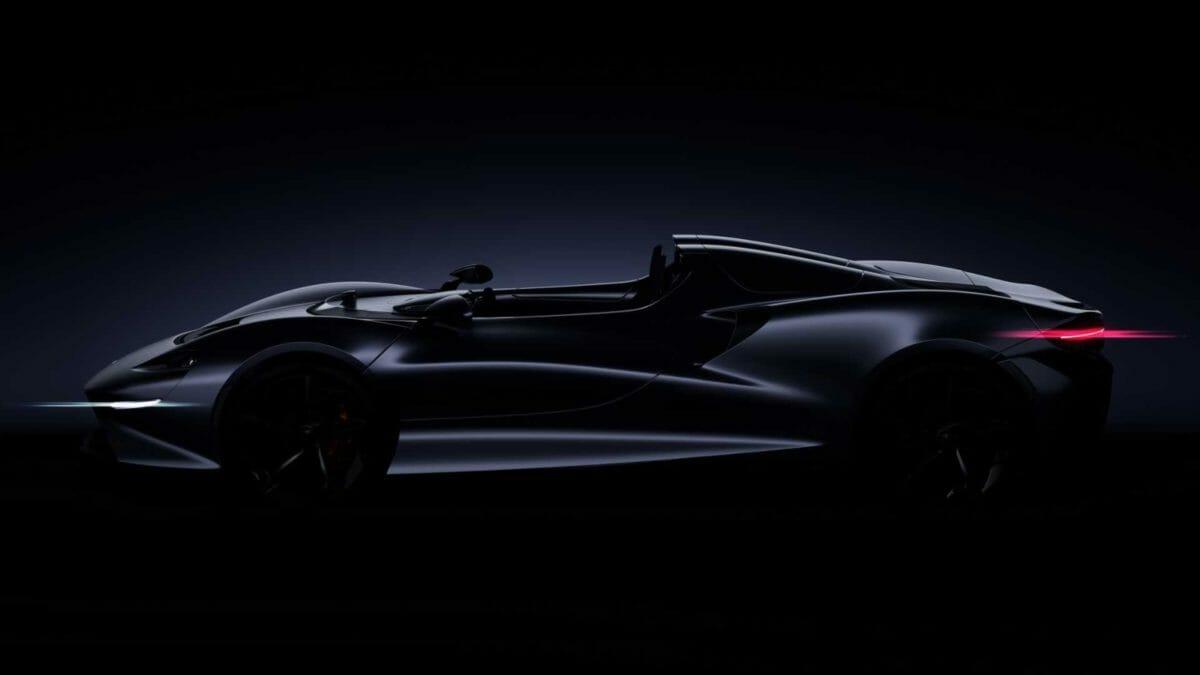 McLaren Speedster teaser side