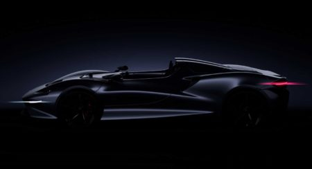McLaren Speedster teaser side