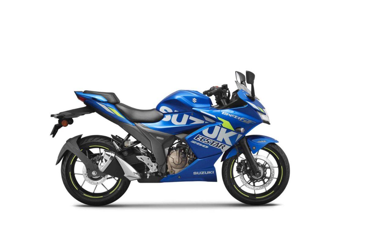 MotoGP Edition of Suzuki GIXXER SF 250_1