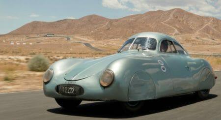 Porsche Type 64 on Auction front quarter