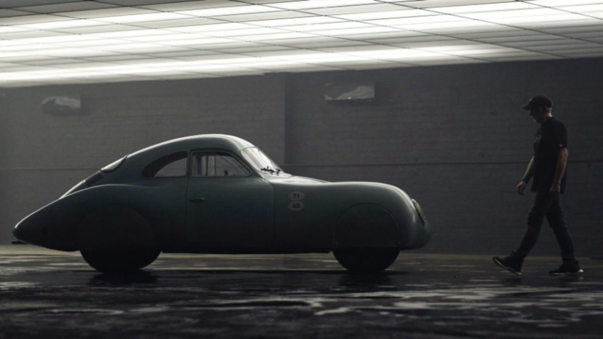 Porsche Type 64 on Auction side