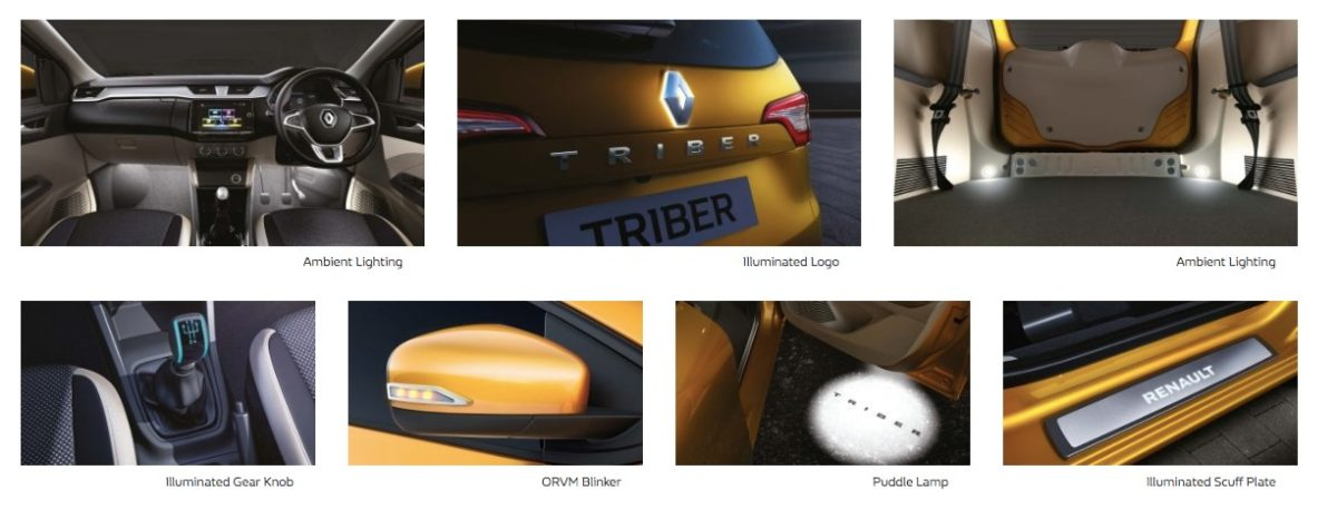 Renault Triber accessories Electrical