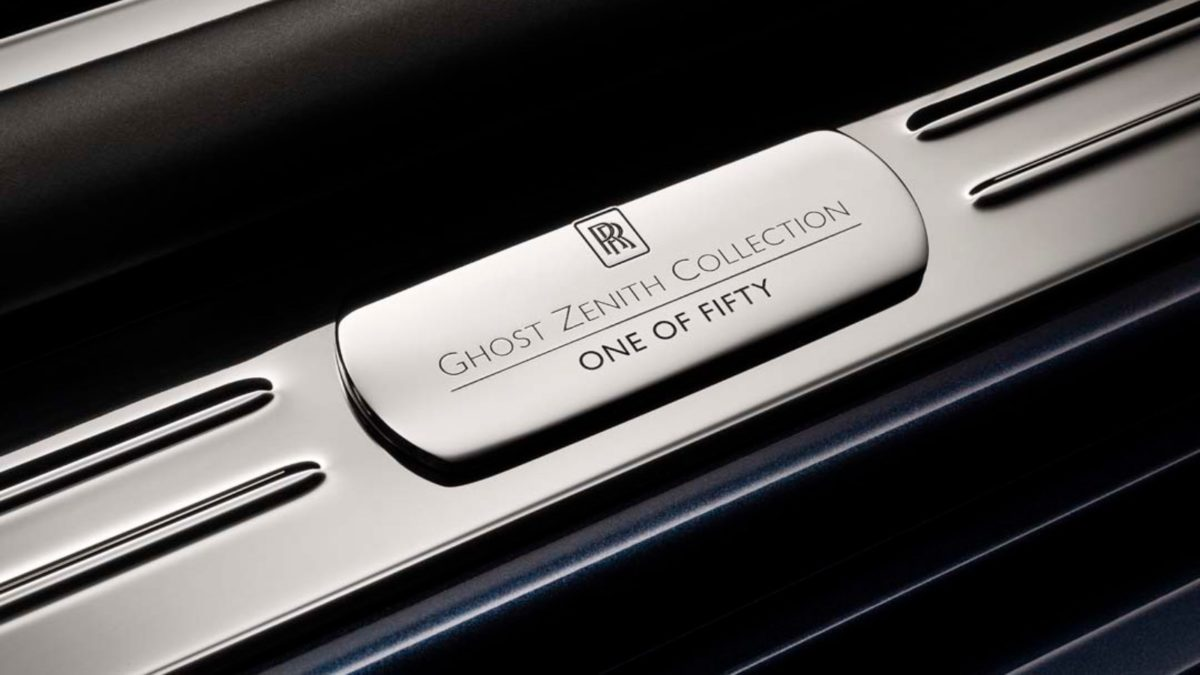 Rolls Royce Ghost Zenith Edition one of fifty