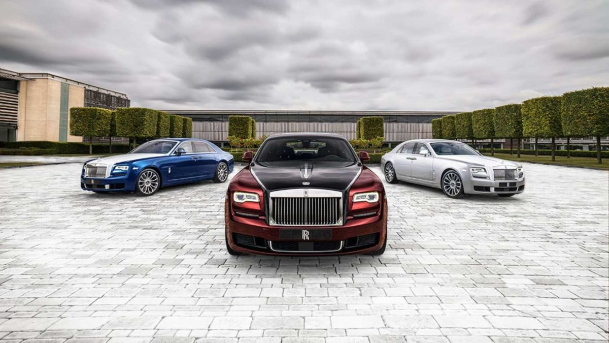 Rolls Royce Ghost Zenith Edition three cars
