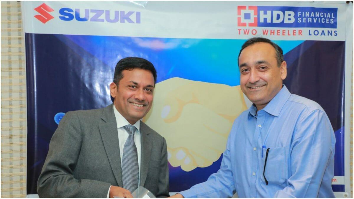 Suzuki and HDB finance