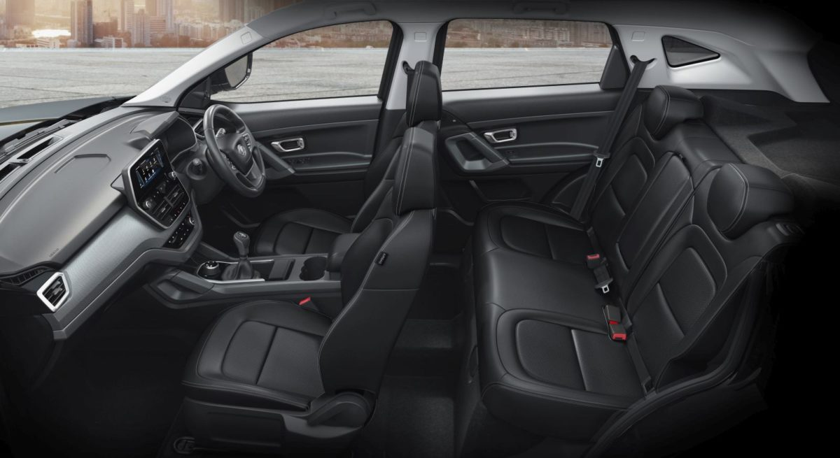 Tata Harrier Dark Edition Cabin layout