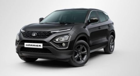 Tata Harrier Dark Edition front quarter
