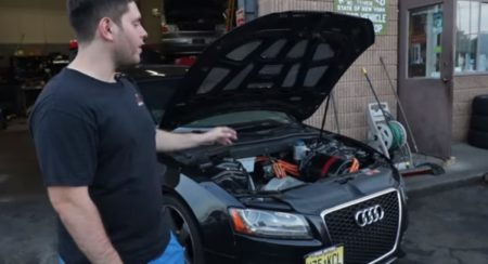 This Tesla-Swapped Audi S5 Still Gets To Keep Its Quattro