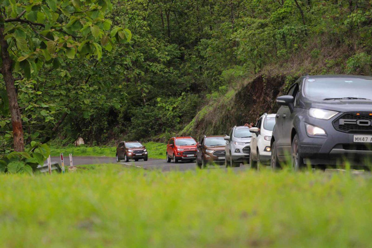 ford ecosport Monsoon Drive