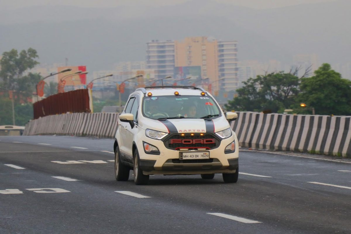 ford ecosport Monsoon Drive expressway
