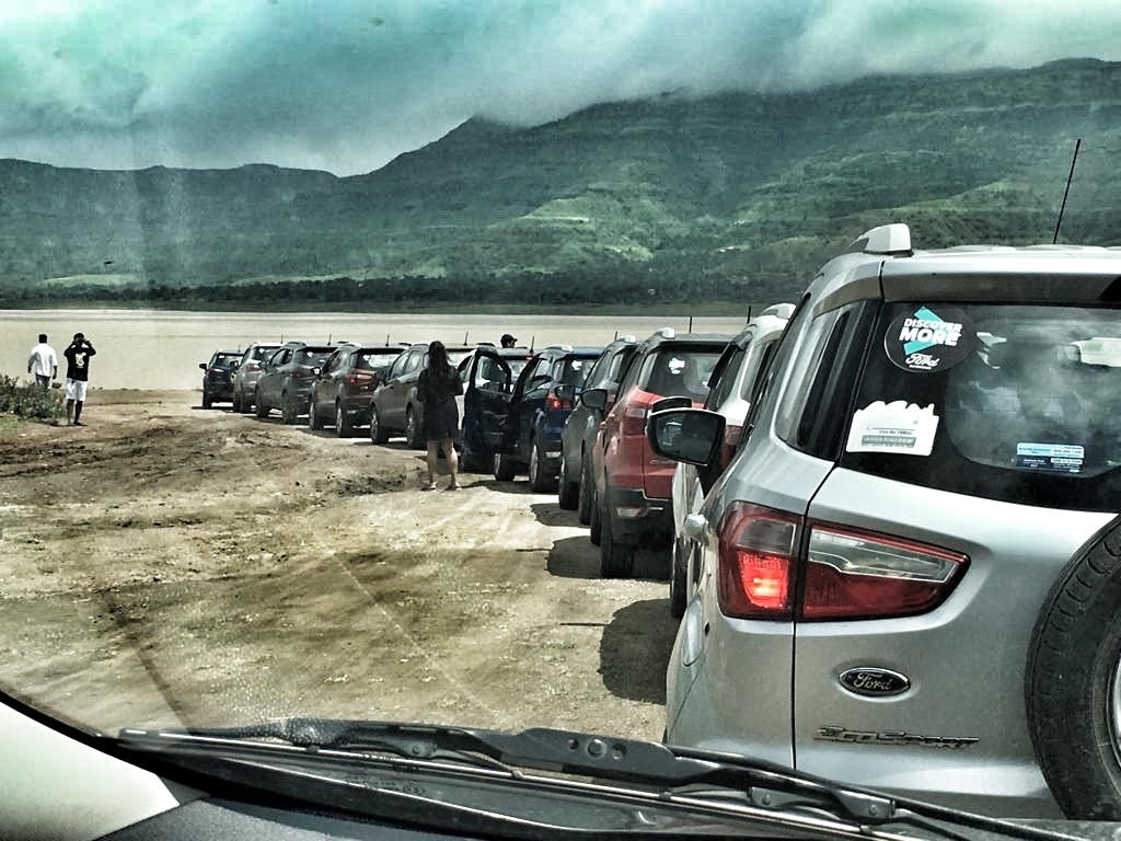ford ecosport Monsoon Drive to Panchgani