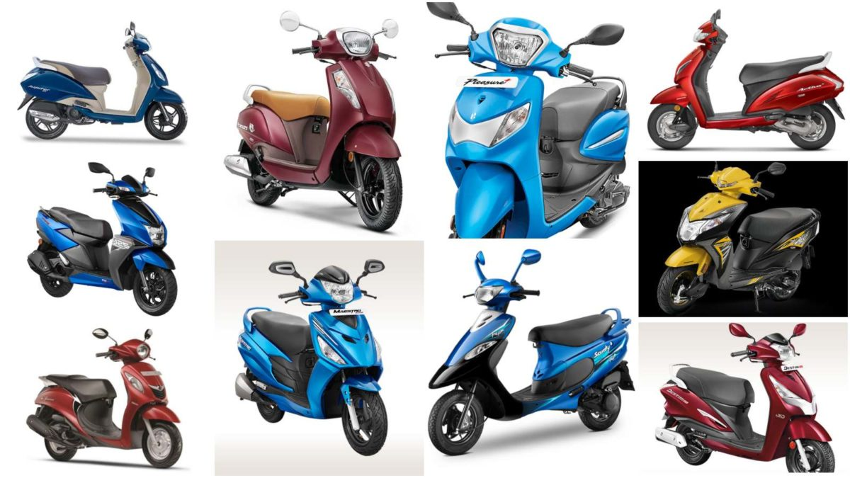 july 2019 best selling scooters