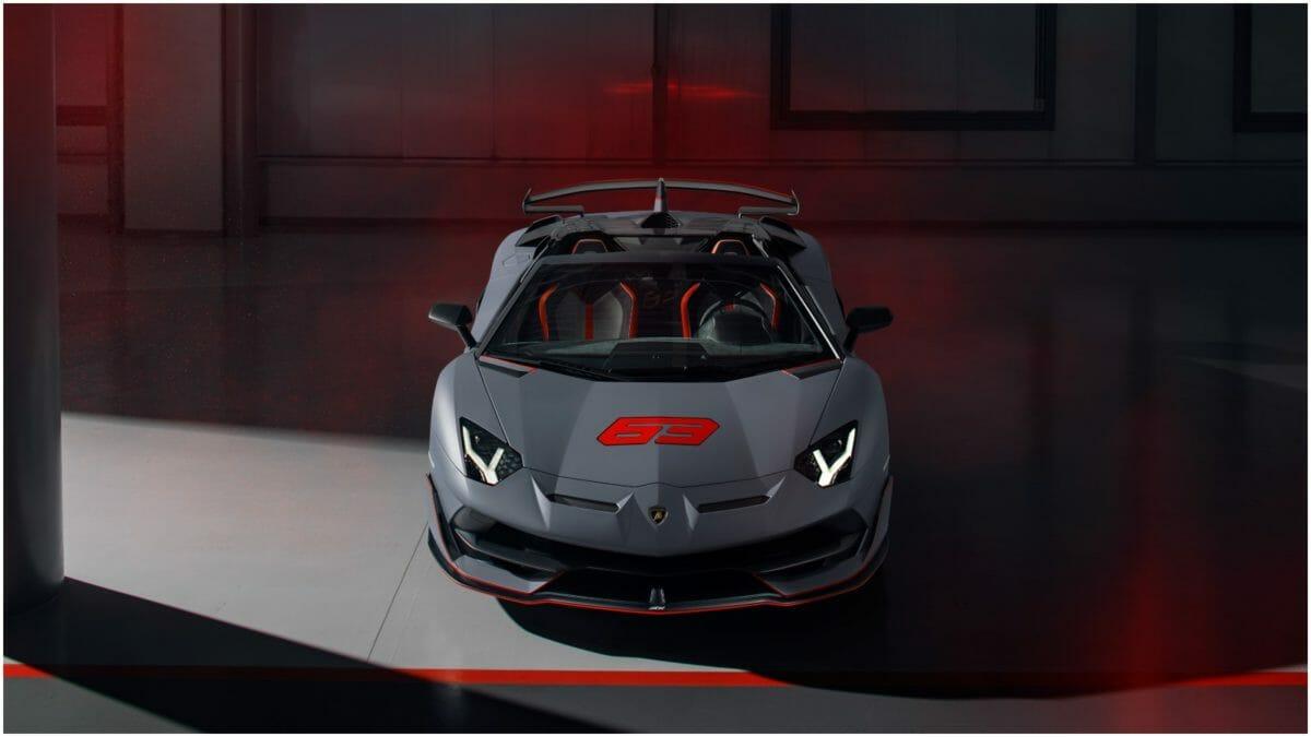 lamborghini Aventador SVJ Roadster 3